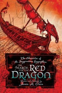 capa do livro A procura pelo dragão vermelho