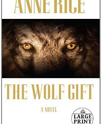 capa do livro The Wolf Gift - anne rice