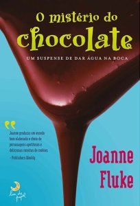 capa do livro O Mistério do Chocolate - Joanne Fluke - Hannah Swensen Mysteries #1