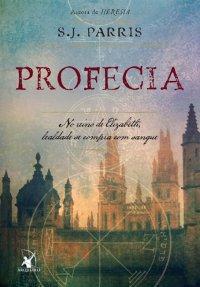 capa do livro Profecia - Giordano Bruno #2 - S.J. Parris