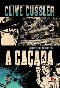 capa do livro A Caçada - Clive Cussler