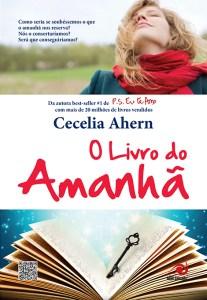capa do livro  O Livro do Amanhã - Cecelia Ahern