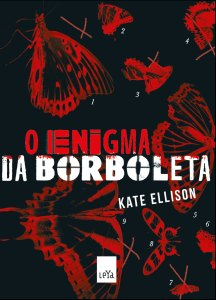 capa do livro O Enigma da Borboleta - Kate Ellison