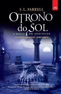 capa do livro O Trono do Sol: A Magia do Anoitecer - S.L. Farrell