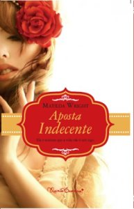 capa do livro Aposta Indecente - Matilda Wright