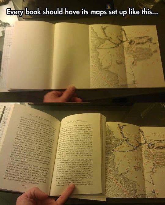 Mapas em livros de fantasia