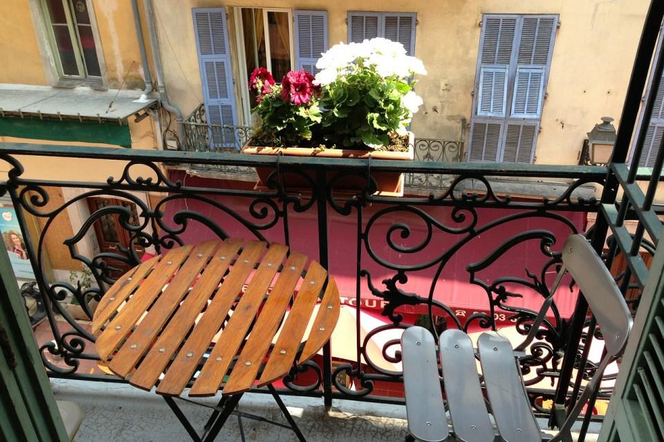 balcon a nice