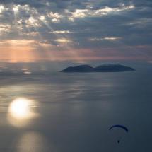 Paragliding_Albania_9th_FAI_sunset