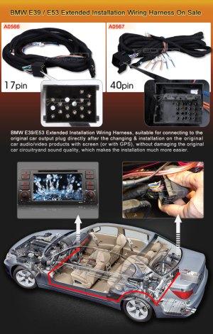 [WRG4500] E39 Wiring Harness