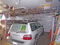 Above garage door storage - DoItYourself.com Community Forums