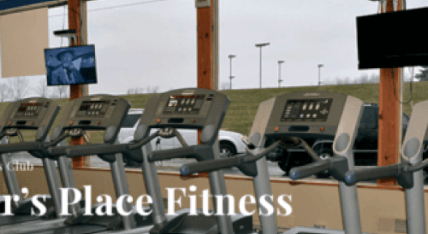 An example of one of our sites, Parker's Place Fitness Website.