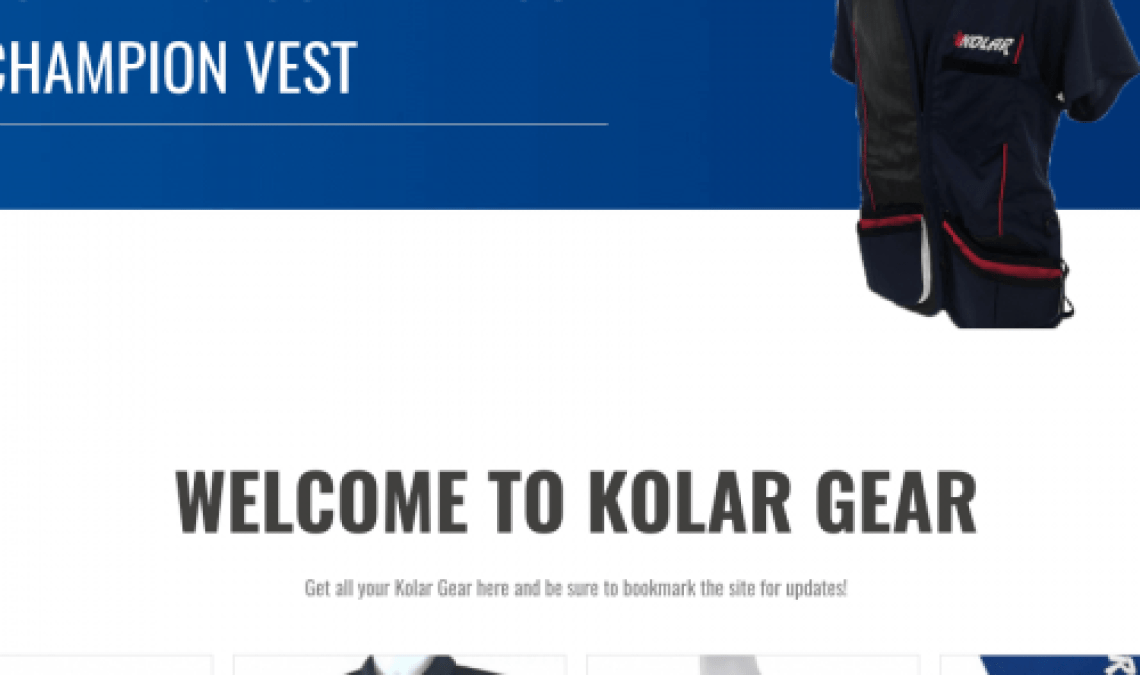 An example of one of our sites, Kolar Gear Website.