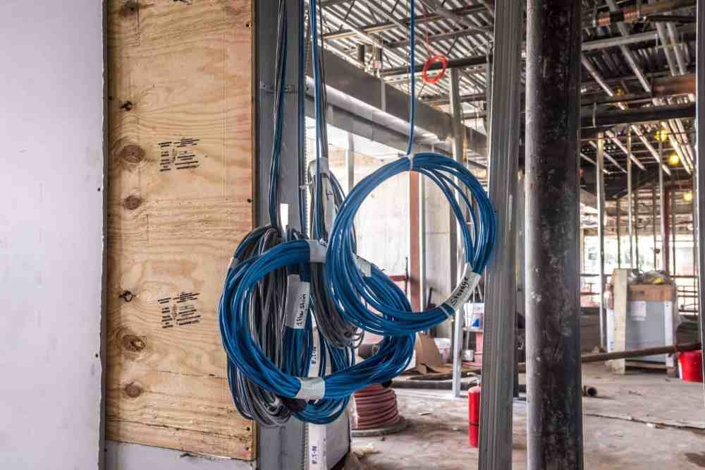 medium resolution of example of large scale commercial wiring project
