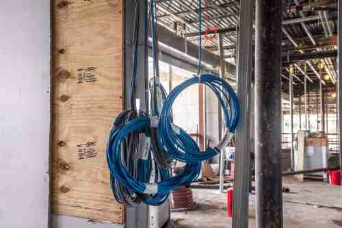 small resolution of example of large scale commercial wiring project