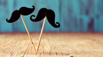 two mustaches