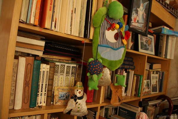 ... i cudna biblioteczka