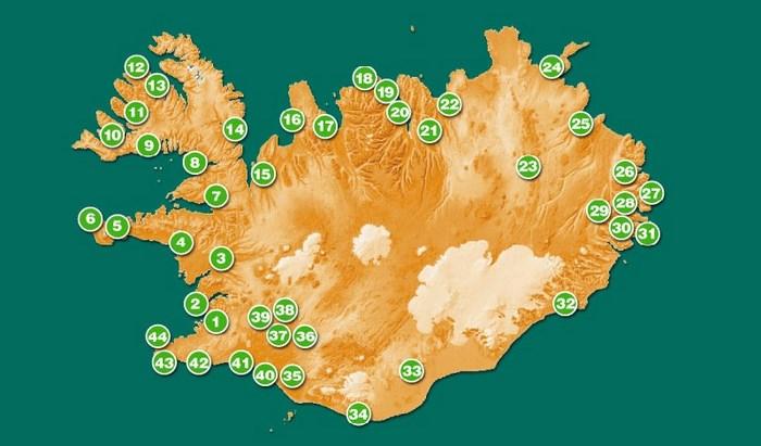 campingi na islandii