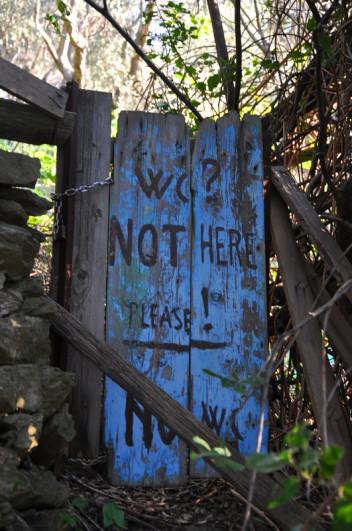 WC? Nie tu! Proszę!