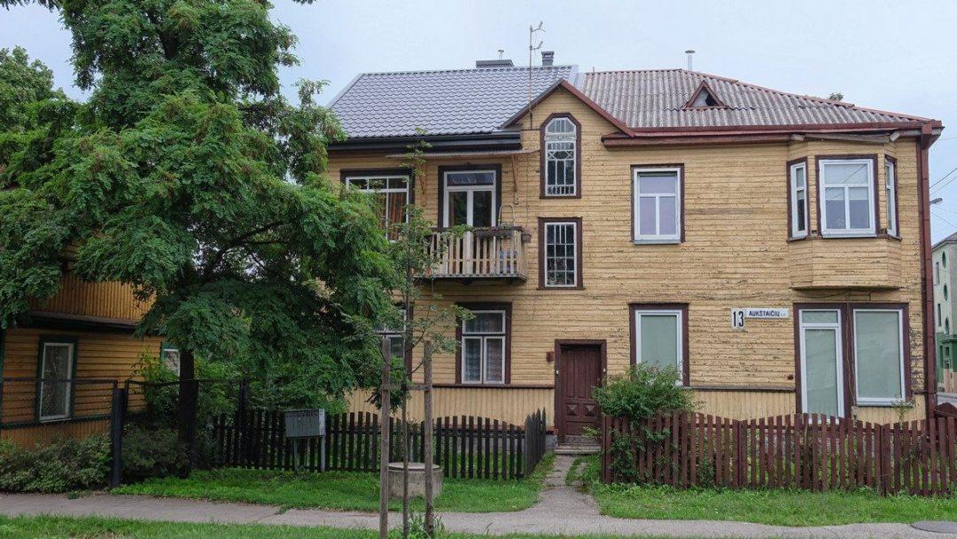 Zabytkowy dom w Kownie