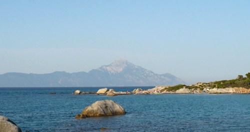 athos góra mountine republika