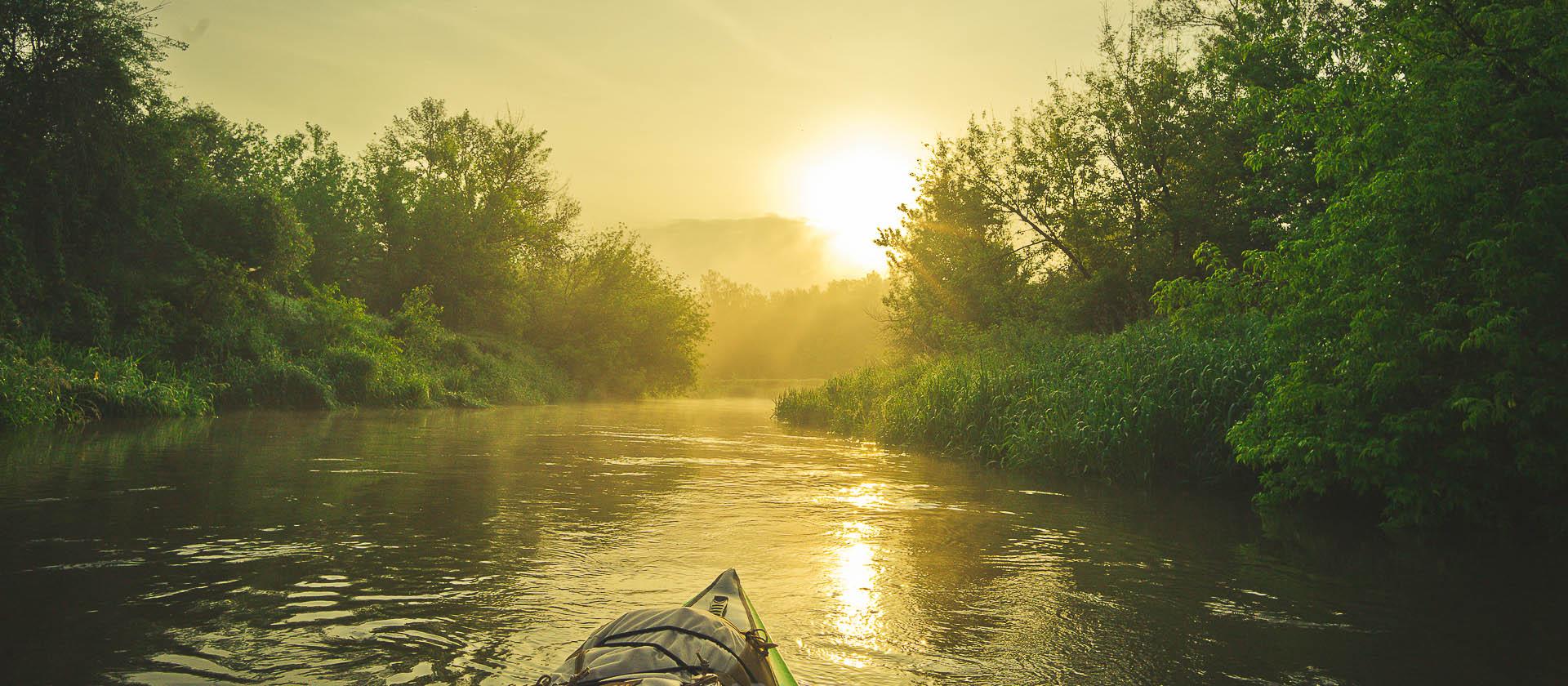 splyw kajakowy rzeka radomka