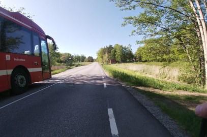 Betryggande avstånd i sidled