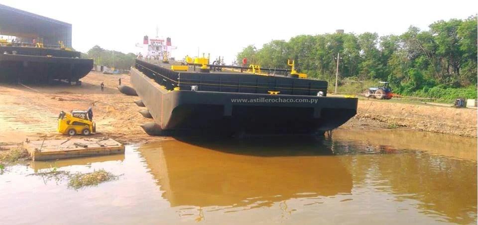 Horamar, CIE y Astillero Chaco construirán barcazas tanques para YPF en Paraguay