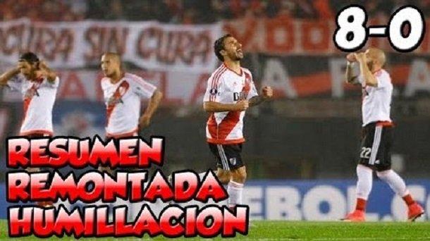 River Plate vs Wilstermann (8-0) Goles y Resumen Libertadores 2017