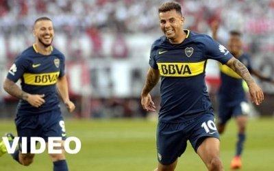 River Plate vs Boca Juniors (1-2) Goles, Resumen, Superliga Argentina 2017