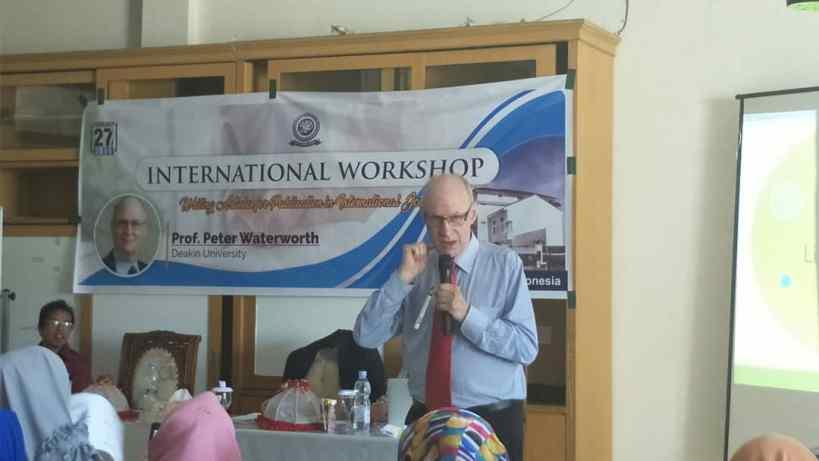 International Seminar Writing Journal