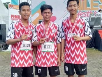 """Mahasiswa/i IPI Meraup Medali dalam """"Pemilu Run"""" dan """"KPU Run"""""""