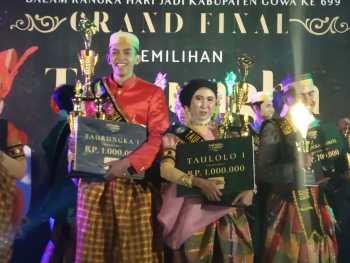 Mahasiswa IPI dinobatkan sebagai Juara 1 Duta Pariwisata Gowa