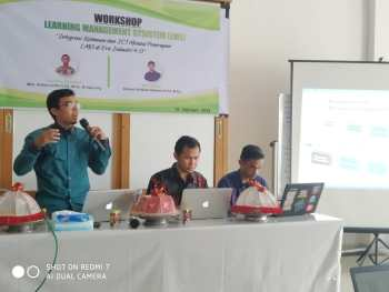Workshop Learning Management System (LMS) IPI guna menyongsong Era Industri 4.0