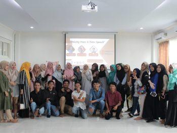 Guna Meminimalisir Hoax dan Hatespeech, UP Project Helat Seminar