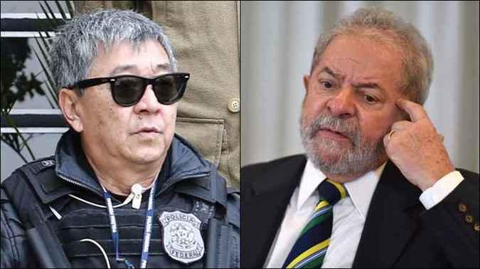 Japonês da Federal tenta visitar Lula na