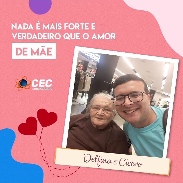 Diretor do CEC Educacional Cícero Roberto parabeniza todas as mães
