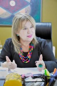 secretária- geral e diretora do registro mercantil da Jucep, Fátima Ventura