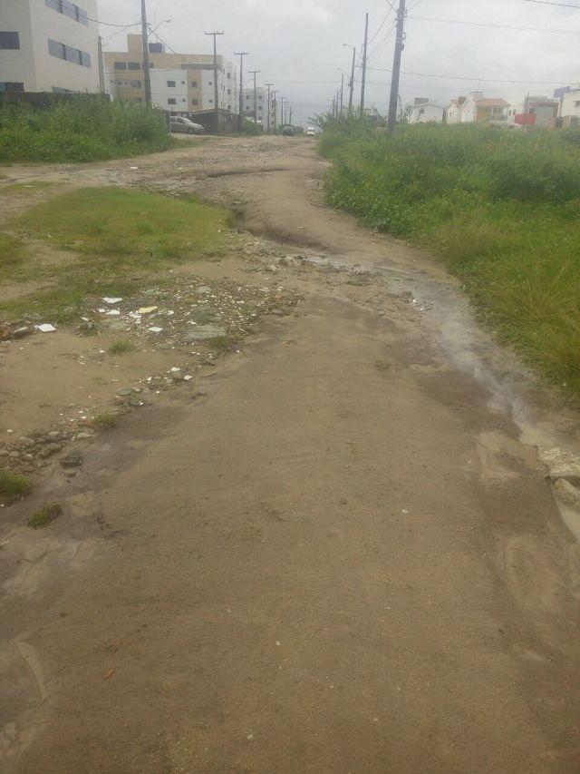 Moradores cobram da PMJP pavimentação de ruas na comunidade Parque do Sol