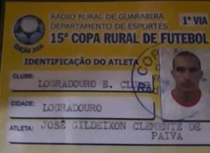 Chapecoense: volante, vítima do acidente, jogou em um time paraibano