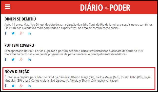 Efraim Filho é apontado como favorito a liderar bancada do DEM na Câmara Federal