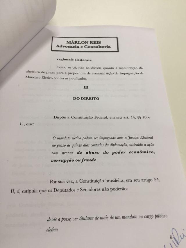 Protocolado no TRE-PB pedido de cassação da chapa Cartaxo e Manoel Junior