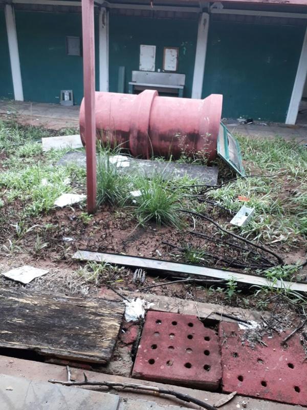 Abandono e descaso tomam conta de Caic de Guarabira; veja imagens