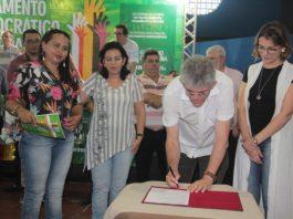 RC entrega benefícios e região de Pombal elege educação como prioridade na plenária do ODE