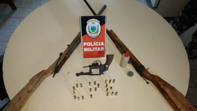 Operação Carnaval: Polícia apreende sete armas de fogo e prende um suspeito em Lucena