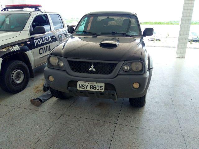 Acusado de explosões bancárias é preso com carro roubado em Umbuzeiro