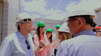 Ricardo inspeciona obras de duplicação do acesso ao Aeroporto Castro Pinto
