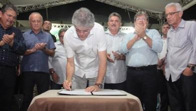 Nesta quinta: Ricardo inaugura Rodovia dos Tabajaras que liga a BR-101 ao Conde