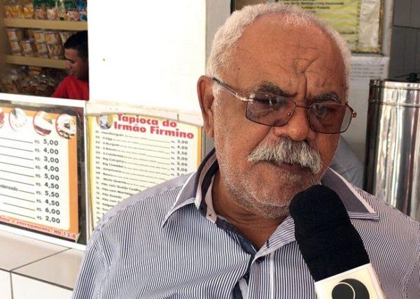 Morre em JP Irmão Firmino, dono de tradicional tapiocaria no distrito do Cajá