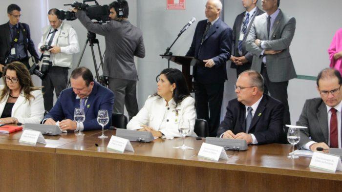 Lígia representa RC em debate sobre segurança pública com Temer em Brasília