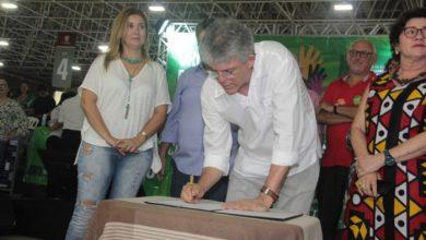 Ricardo participa do ODE em JP e libera R$ 23 milhões para obras da educação